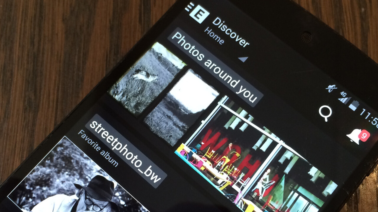EyeEm's revamped Android app is all about clutter-free enjoyment of photography