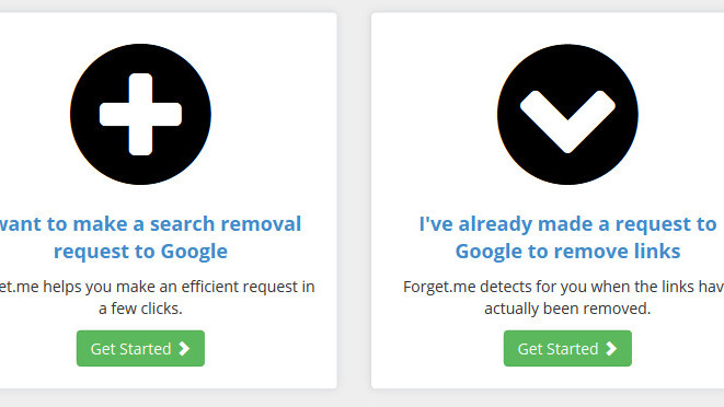 Forget.me wants to make it easier to exercise your 'right to be forgotten' on Google