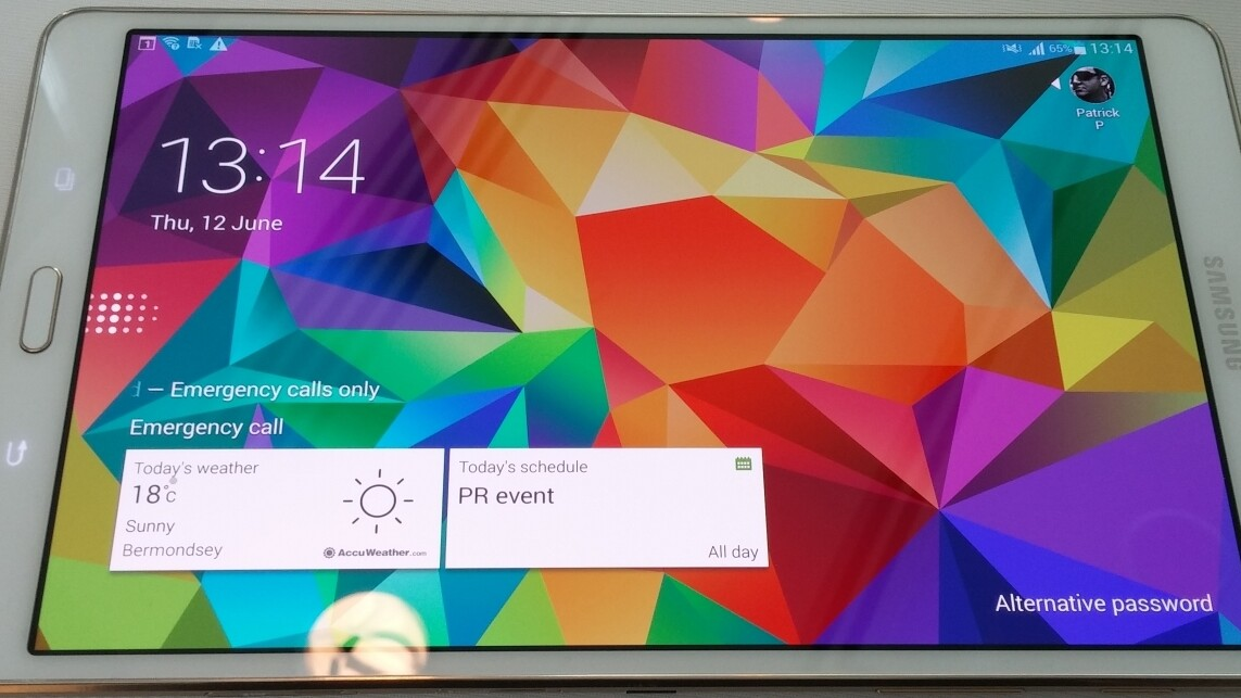 Hands-on with Samsung's 8.4-inch and 10.5-inch Galaxy Tab S: Thinner and lighter than Apple's iPads