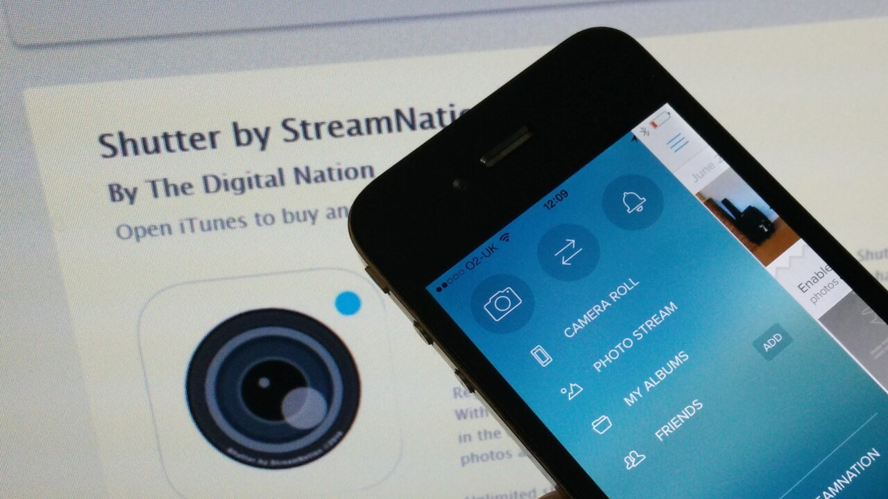 With Shutter, StreamNation makes your iPhone camera roll truly unlimited with free cloud storage forever