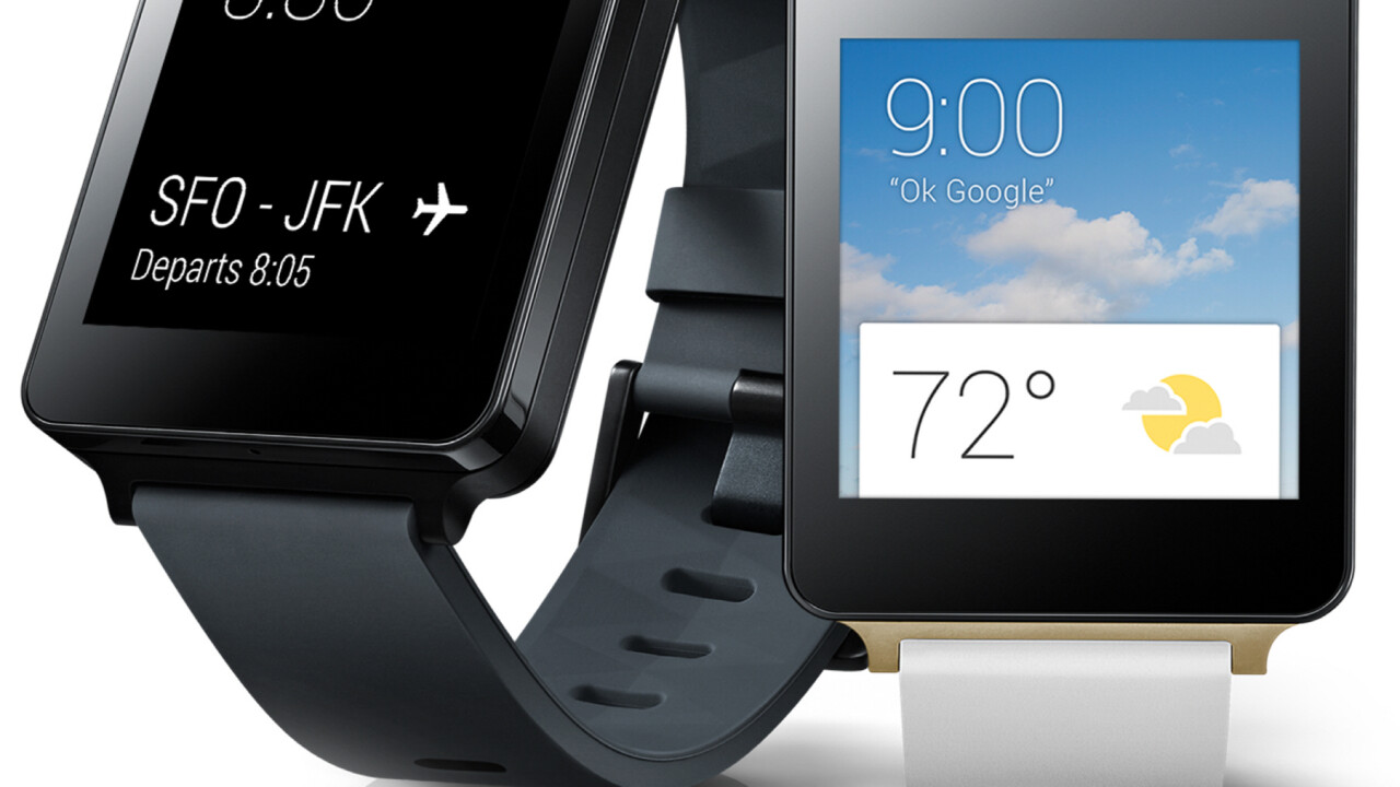 LG's Android Wear-based G Watch is now on sale across the world on Google Play and key retailers
