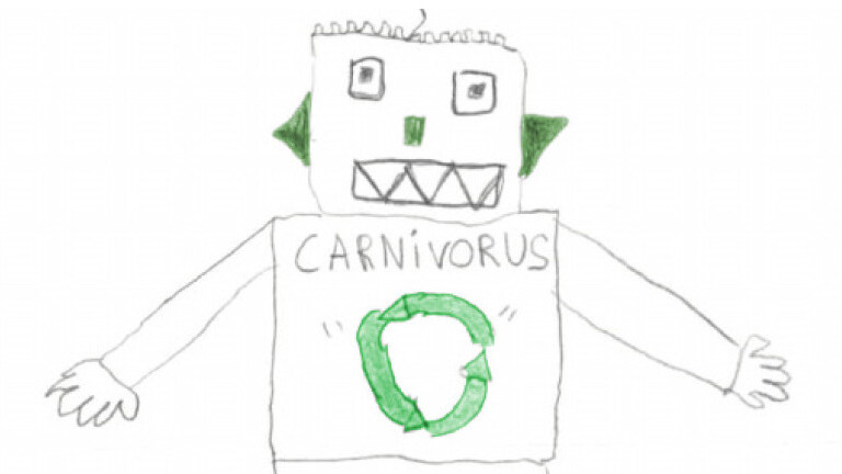 These drawings tell us a lot about children's attitudes to technology