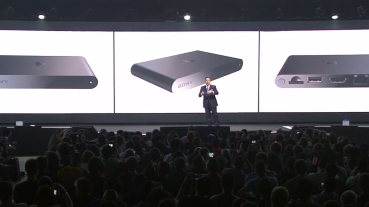 Sony's Vita TV is coming to the Europe, US and Canada as 'PlayStation TV' for $99 this fall