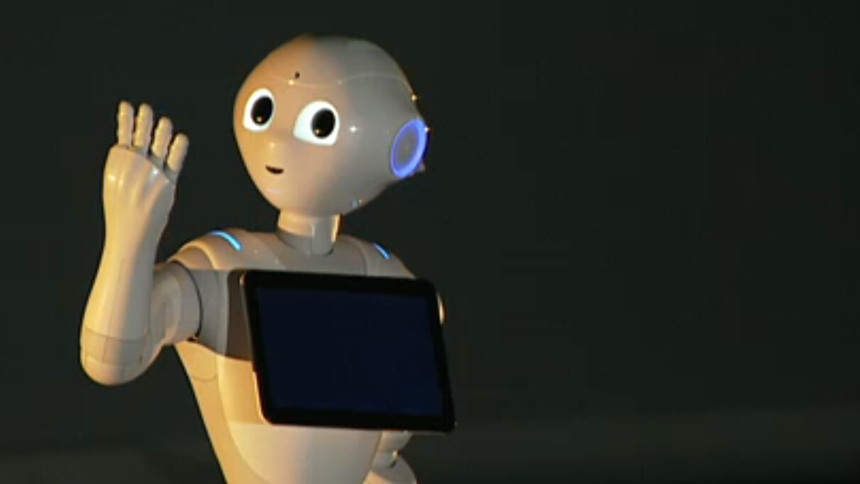 Pepper is an emotionally-aware robot available in Japan next year for under $2,000