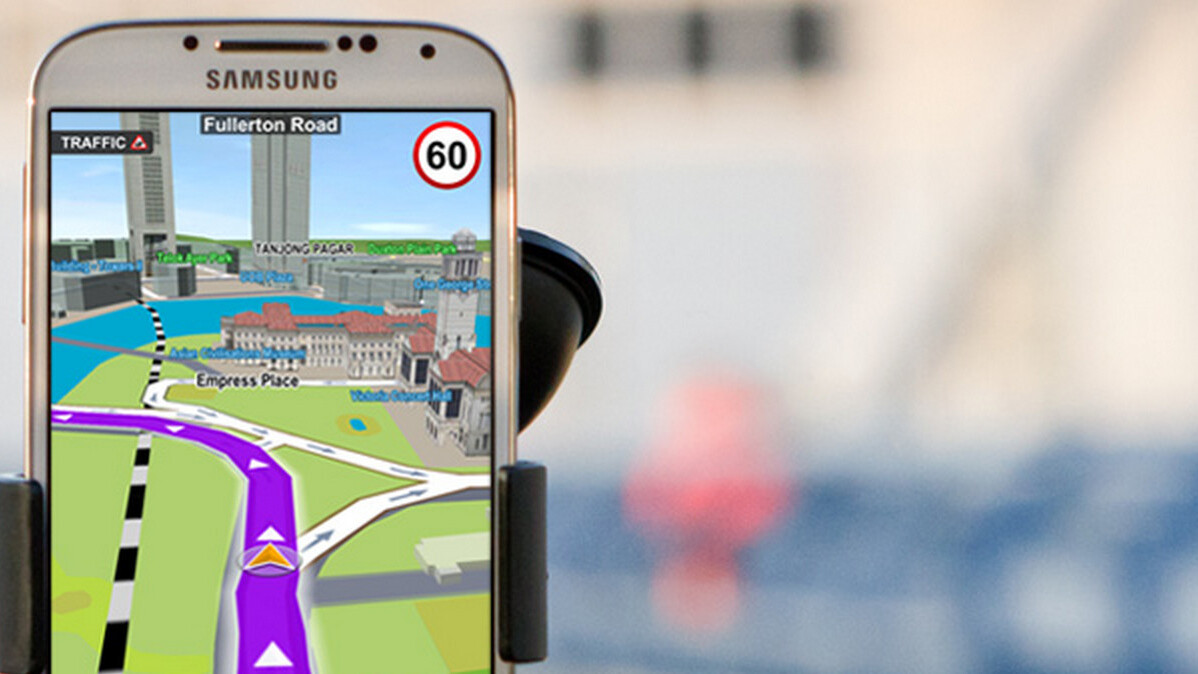 Be a smart driver: Use Sygic GPS Navigation, the world's most installed offline navigation for iOS and Android