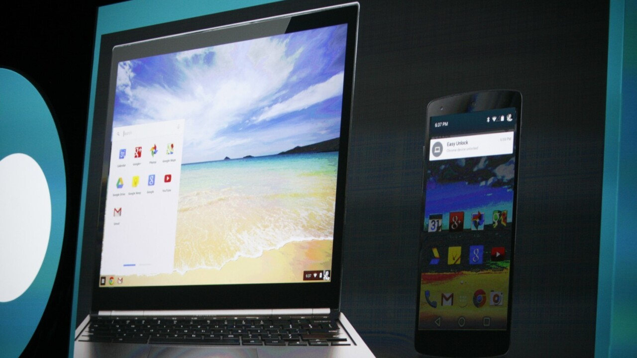 Chromebooks can now run some Android apps for the first time, including Evernote and Vine