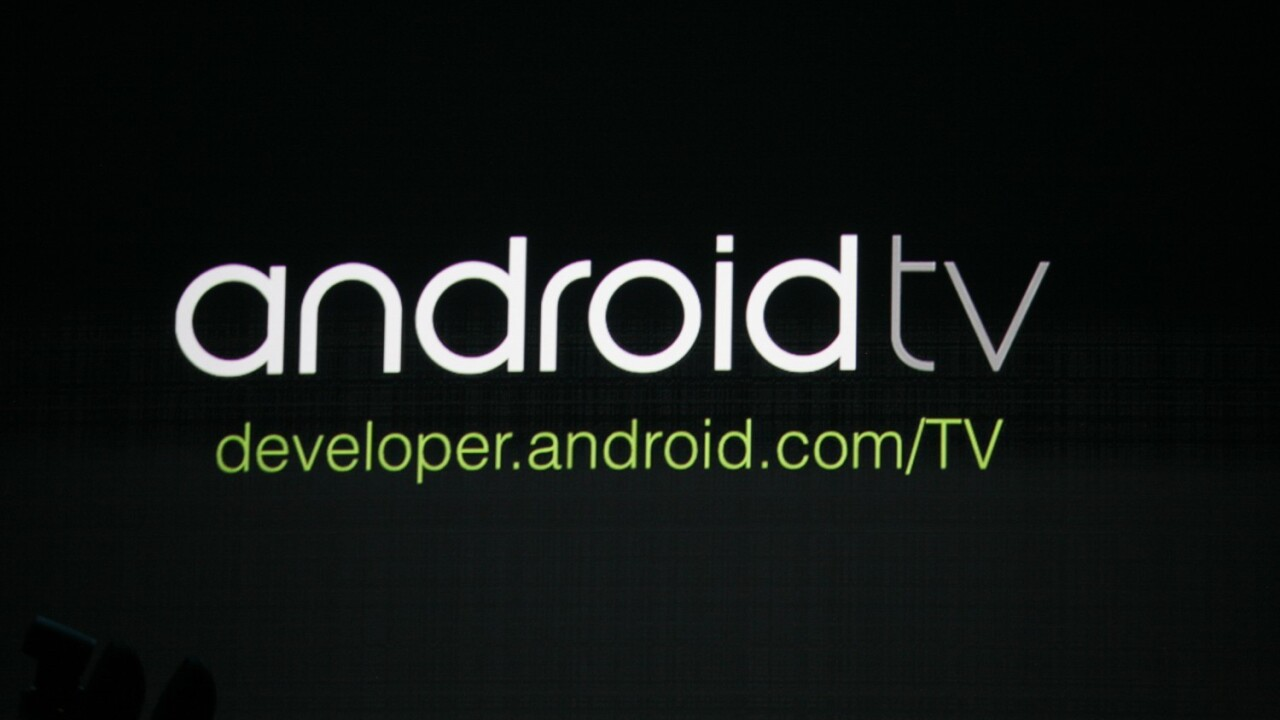 Google announces Android TV to bring 'voice input, user experience and content' to the living room