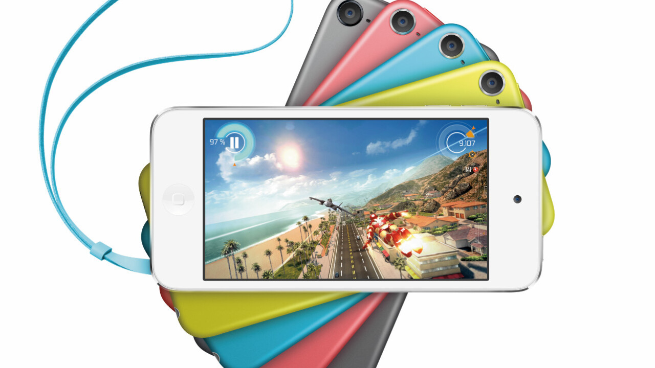 Apple refreshes iPod Touch lineup with new colors and iSight camera, now starting from $199