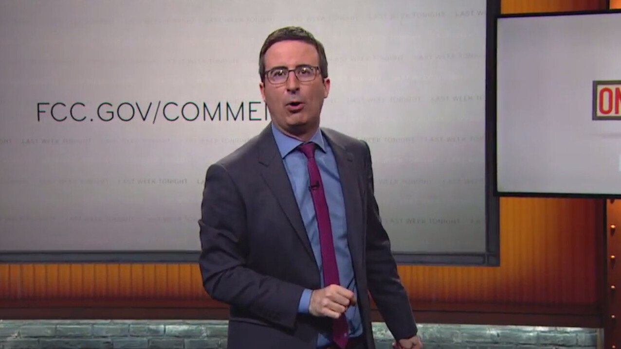 John Oliver's hilarious plea for trolls to defend net neutrality overloads the FCC's comment system