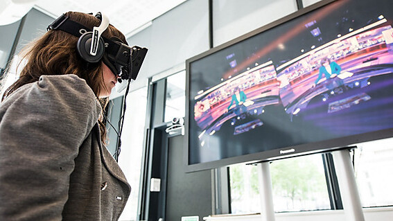 The BBC creates a 360-degree virtual reality news bulletin. All you need is a $350 Oculus Rift to see it.
