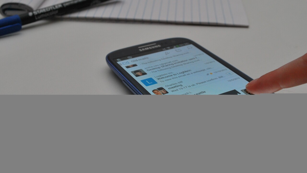MailWise: An Android email client for clutter-free conversations