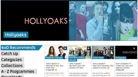 Britain's Channel 4 adds 3G and 4G streaming to its 4OD iOS app