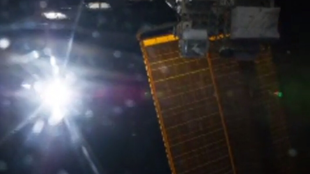 The first Vine from space is a thing of wonder