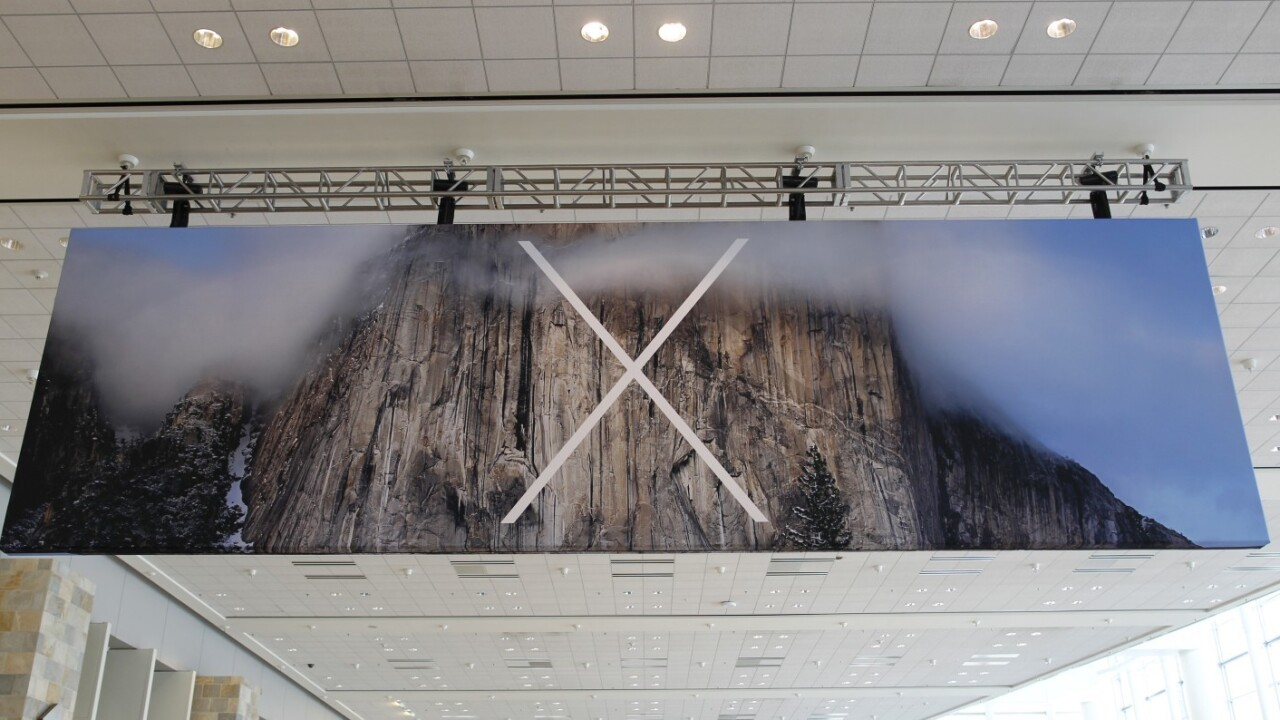 Apple announces OS X Yosemite with flat design, tight iPhone integration and more