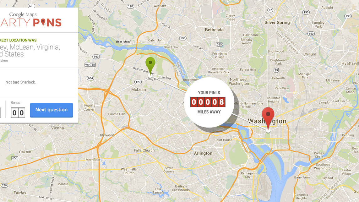 Google's new Smarty Pins map-based game reminds me I know nothing about American Civil War locations