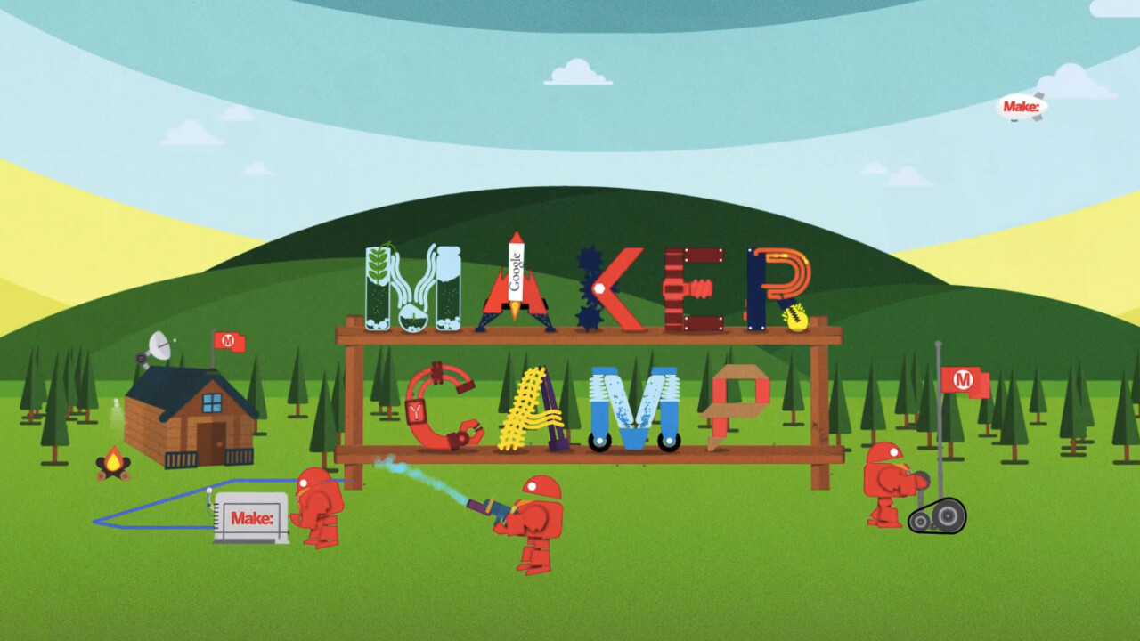 Keep your kids busy with science at Google and Maker's 3rd annual online DIY Maker Camp