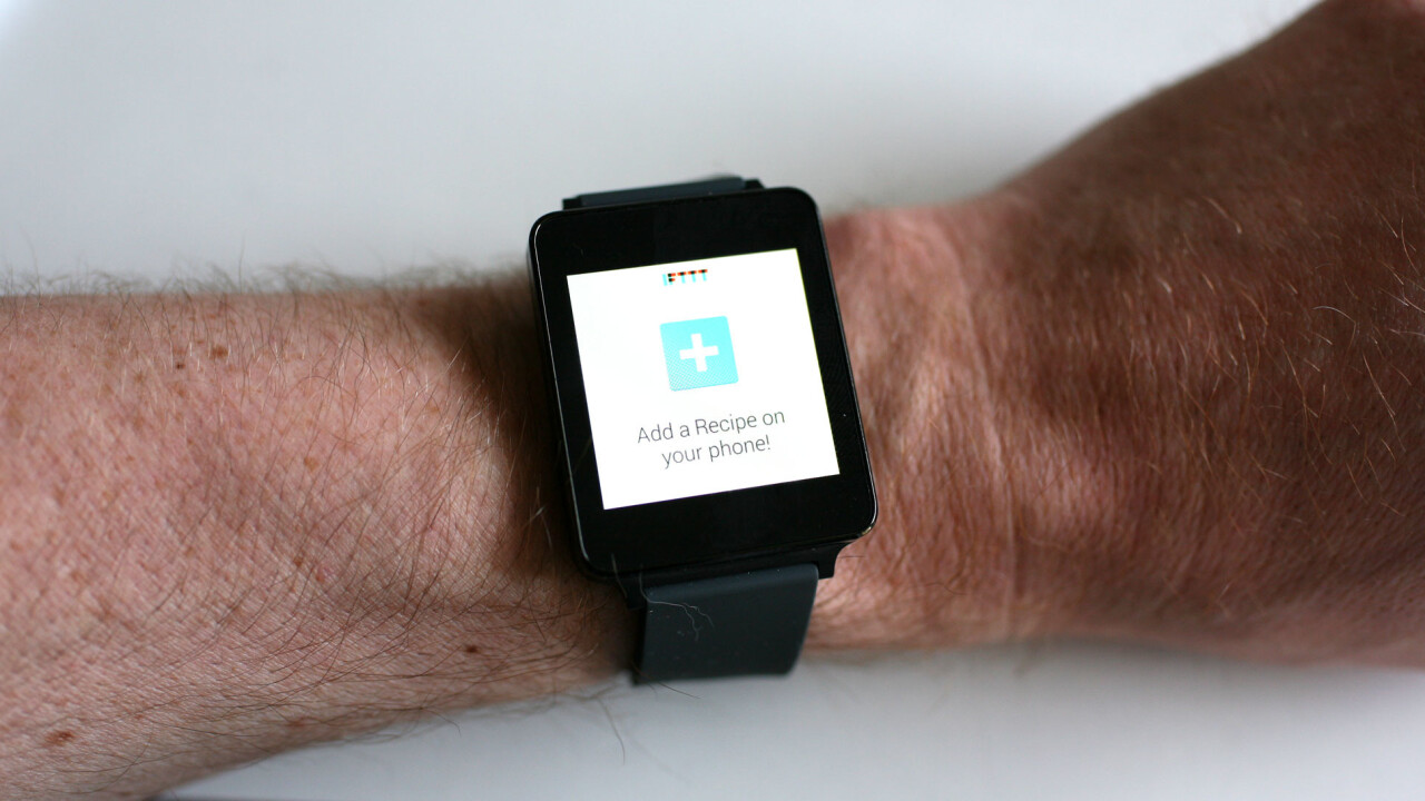 Supercharge your Android Wear smartwatch with these IFTTT recipes