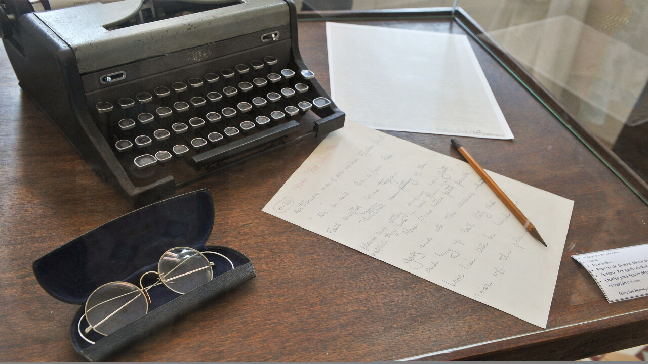 Hemingway Editor app helps you write in the legendary author's economical style