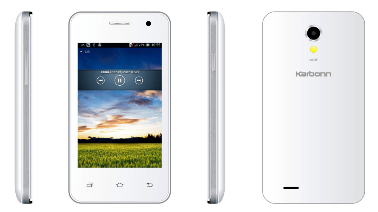 'India's Amazon' Flipkart teams up with Karbonn to launch Android smartphones from $45