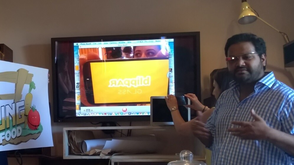 Blippar demos augmented reality gaming on Google Glass