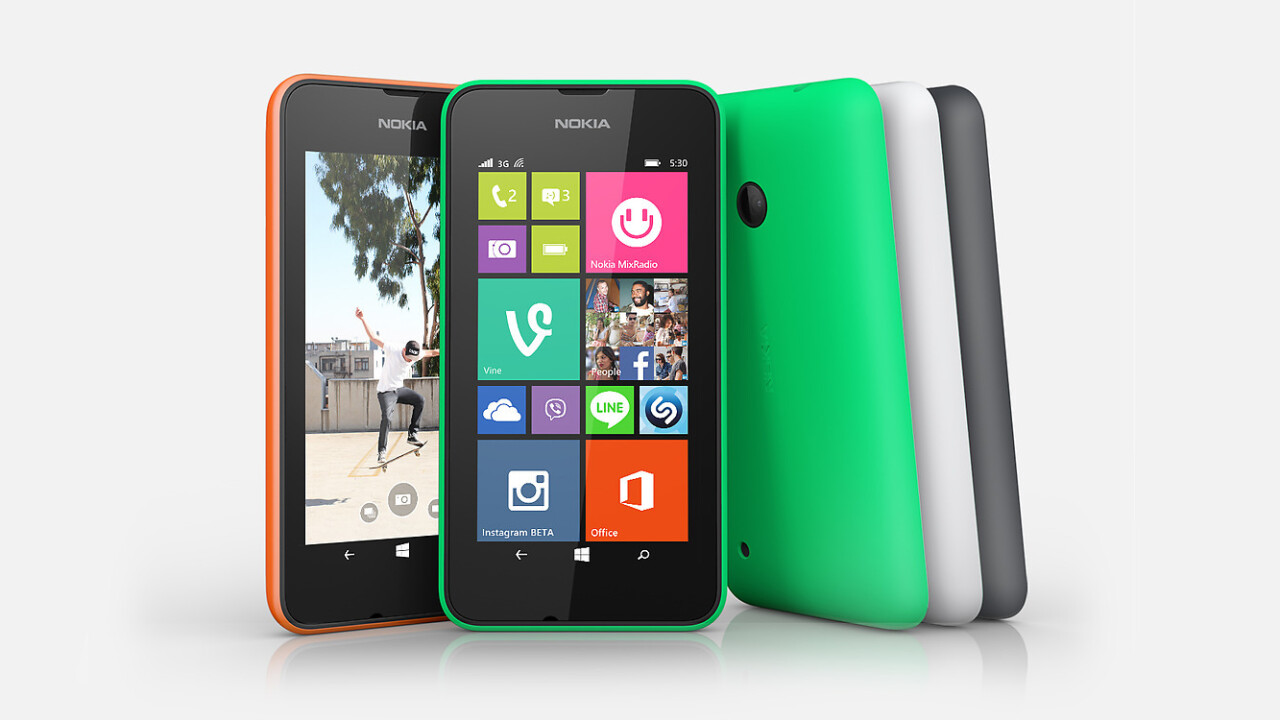 Microsoft launches $114 Lumia 530 with 4-inch display. Hits Europe next month