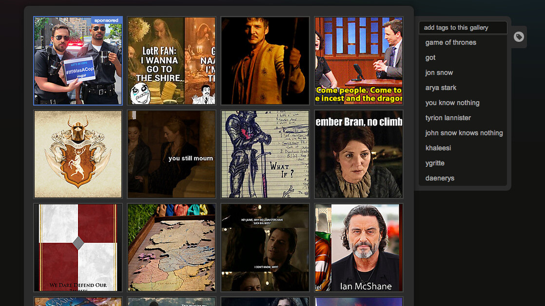 Imgur adds new crowdsourced tagging features that let you create custom galleries