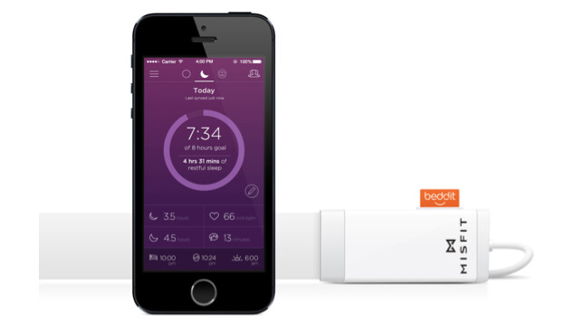 Misfit snuggles up to Beddit to release a sleep monitor that you keep under your sheets