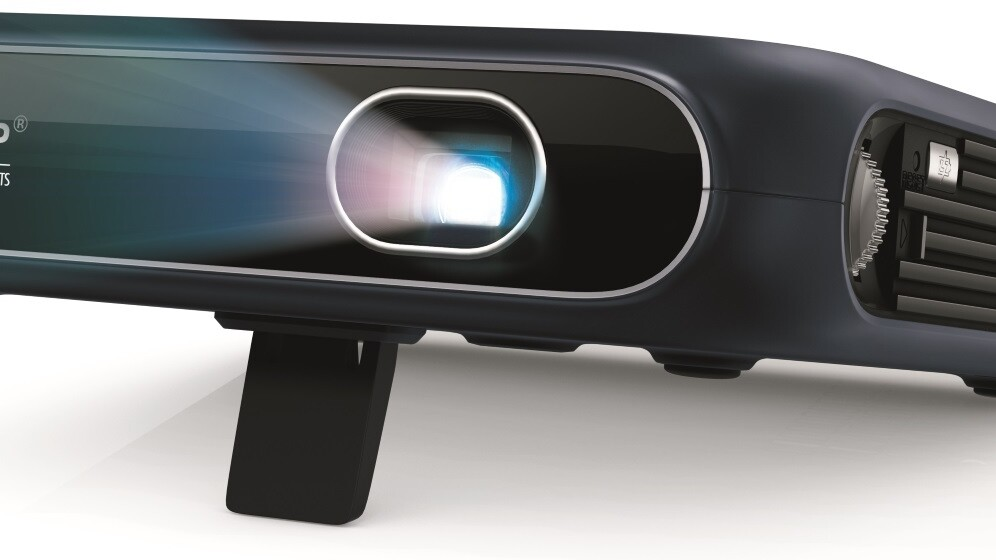 Sprint's new portable projector cleverly doubles as a Wi-Fi hotspot