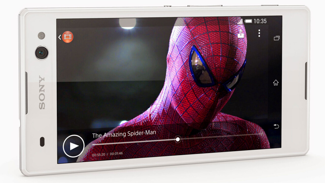 Sony's new Xperia C3 smartphone wants to help you take the best selfies ever