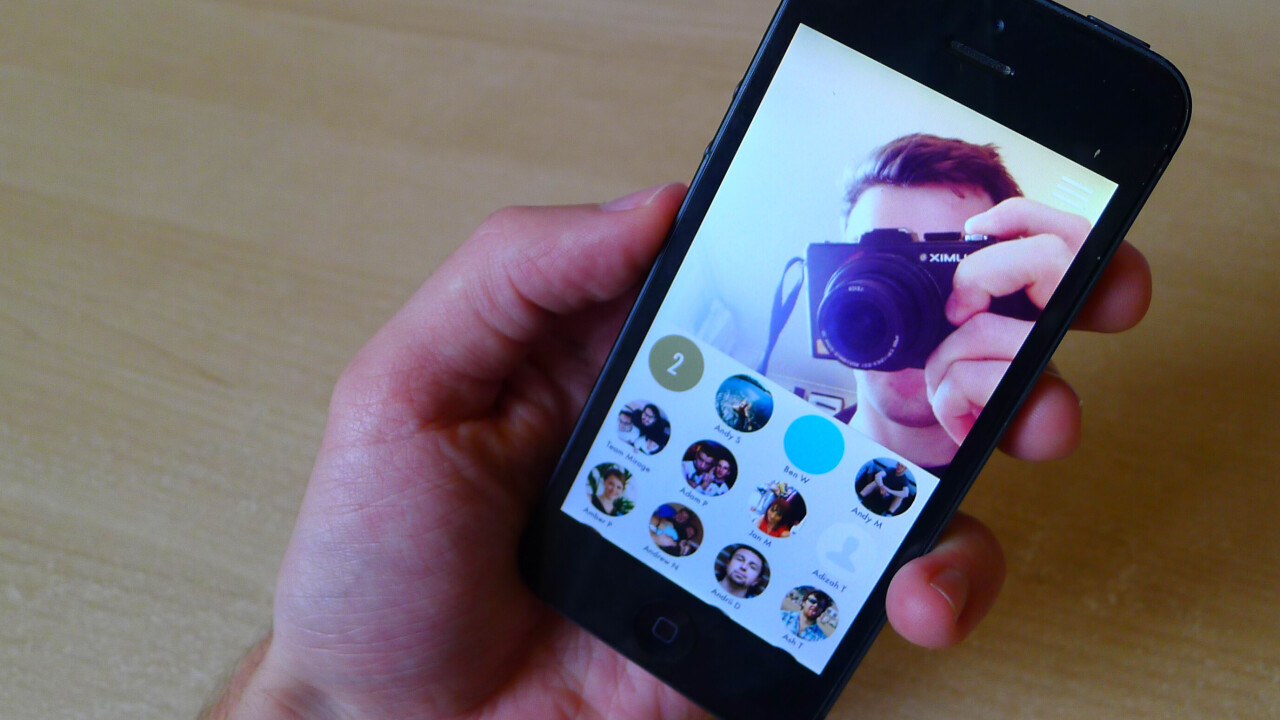 Mirage is a Taptalk-style messaging app from Mobli, the company where Yo was born