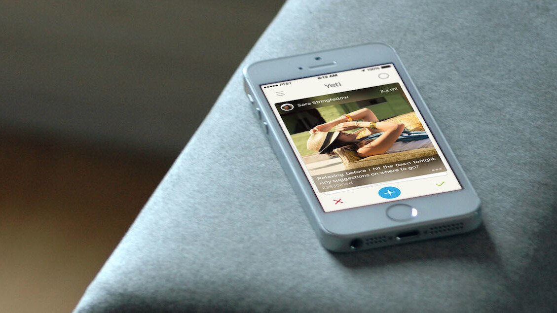 At The Pool launches Yeti, an iOS app for local conversations