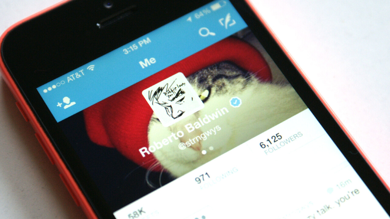 Twitter for mobile now alerts verified accounts when they follow each other because they're ever so special