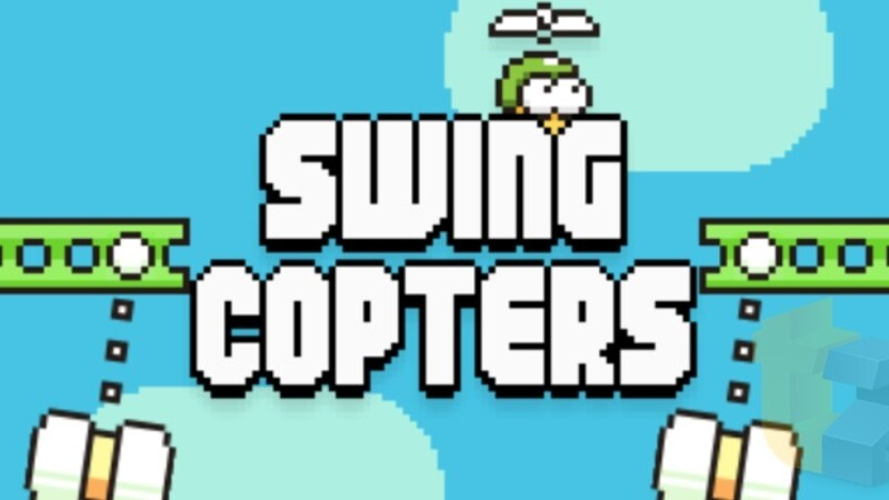 Swing Copters, the new game from the creator of Flappy Bird, is now live for iOS and Android