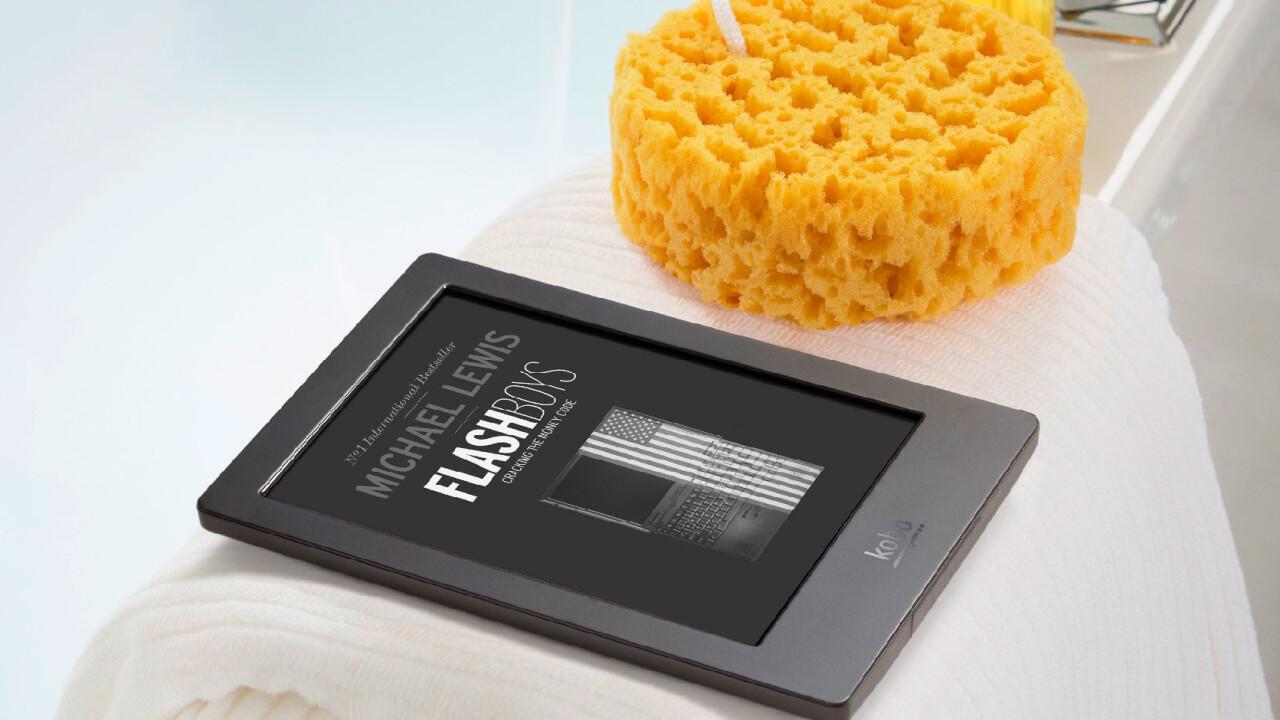 Kobo unveils $179 Aura H20 waterproof ereader coming October 1