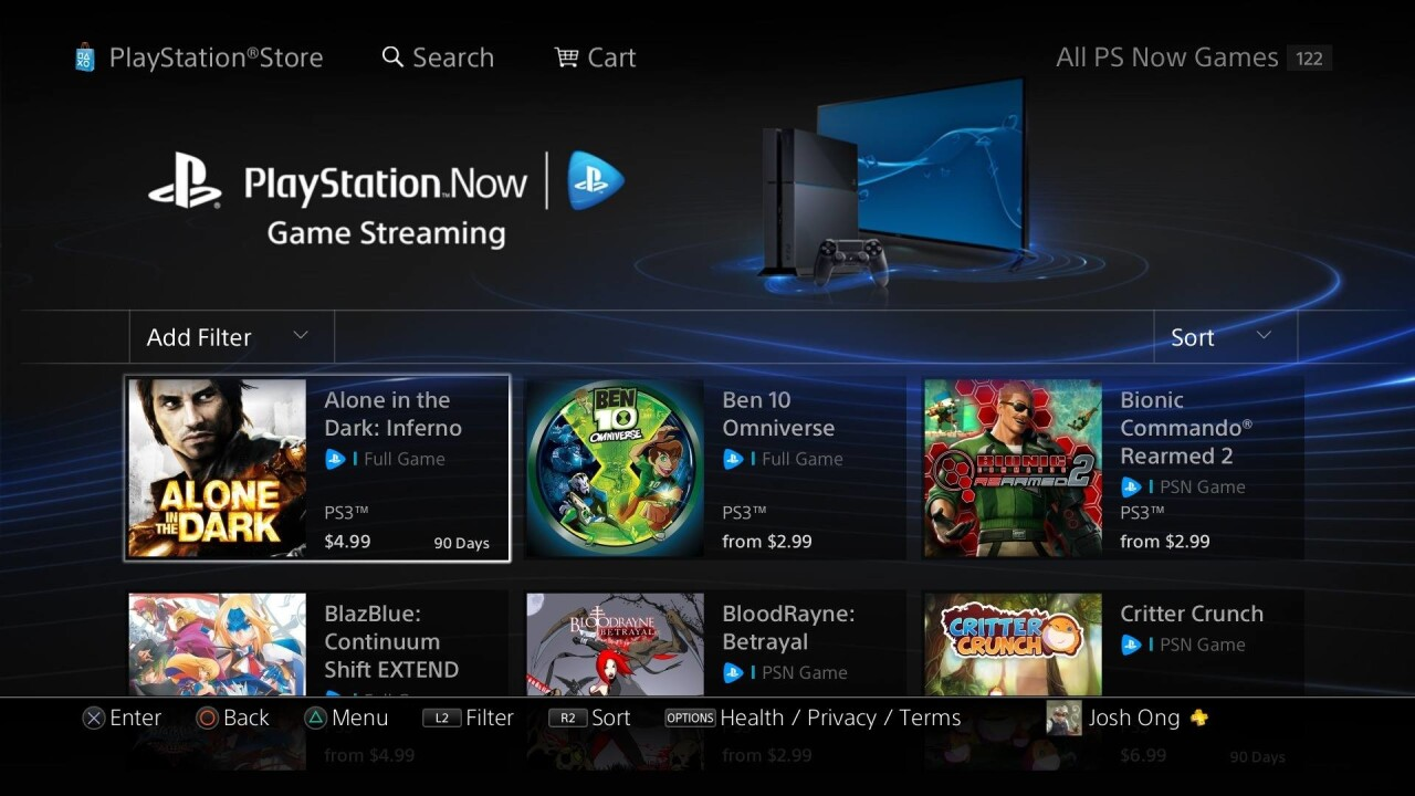 PlayStation Now Beta first impressions: Cloud gaming is very convenient and very expensive