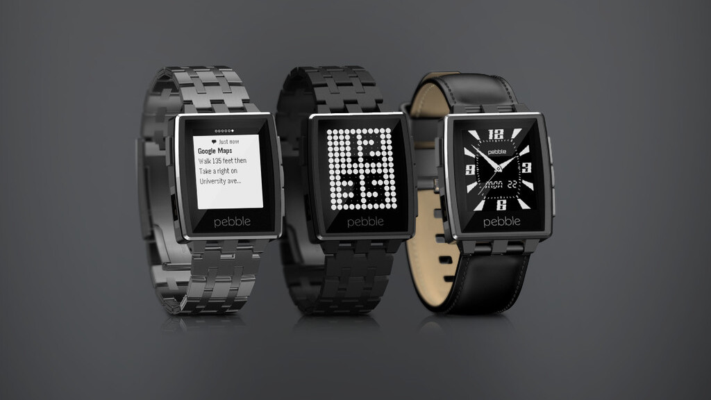 Running late? Glympse now lets you share your location from a Pebble smartwatch