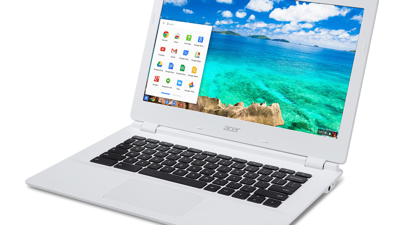 Acer's $279 Chromebook promises 13 hours of battery life thanks to Nvidia's Tegra K1 processor