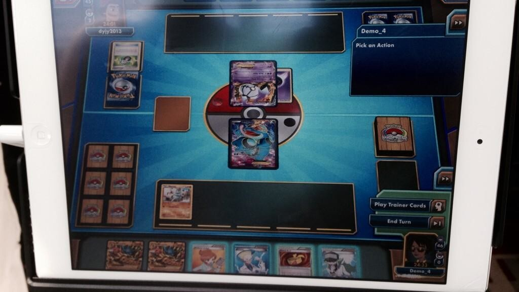 The Pokémon Trading Card Game is coming to the iPad