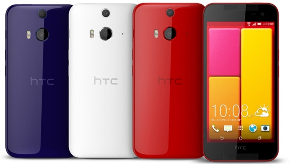 The HTC Butterfly 2 is a 5-inch smartphone that goes on sale in Asia next month