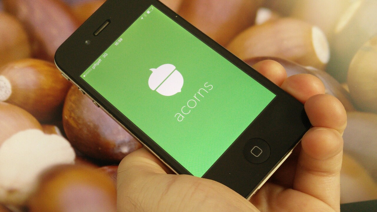 Acorns for iPhone wants to help you get rich by micro-investing your spare change