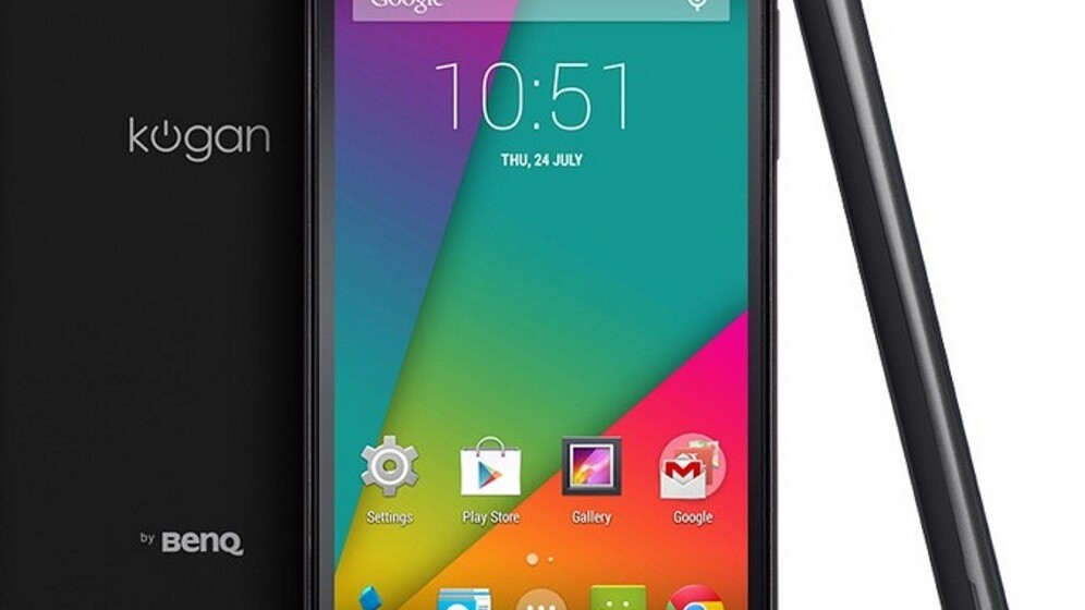 Kogan's £150 4G Agora Android smartphone comes to the UK