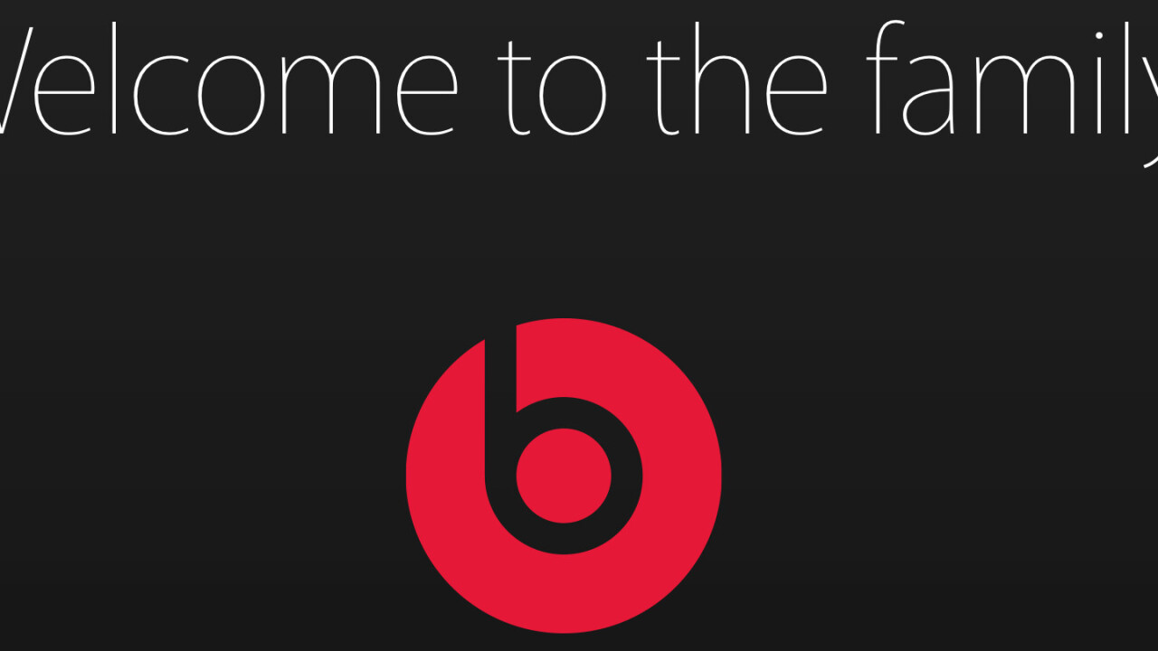 It's official: Apple confirms its Beats acquisition is complete