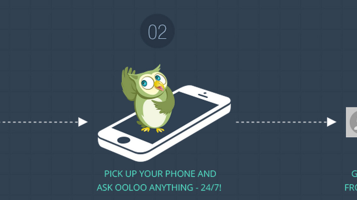 Ooloo for iOS and Android sends voice search queries to real people