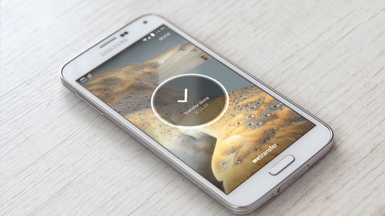 WeTransfer now lets Android users send files of up to 10GB in one go too