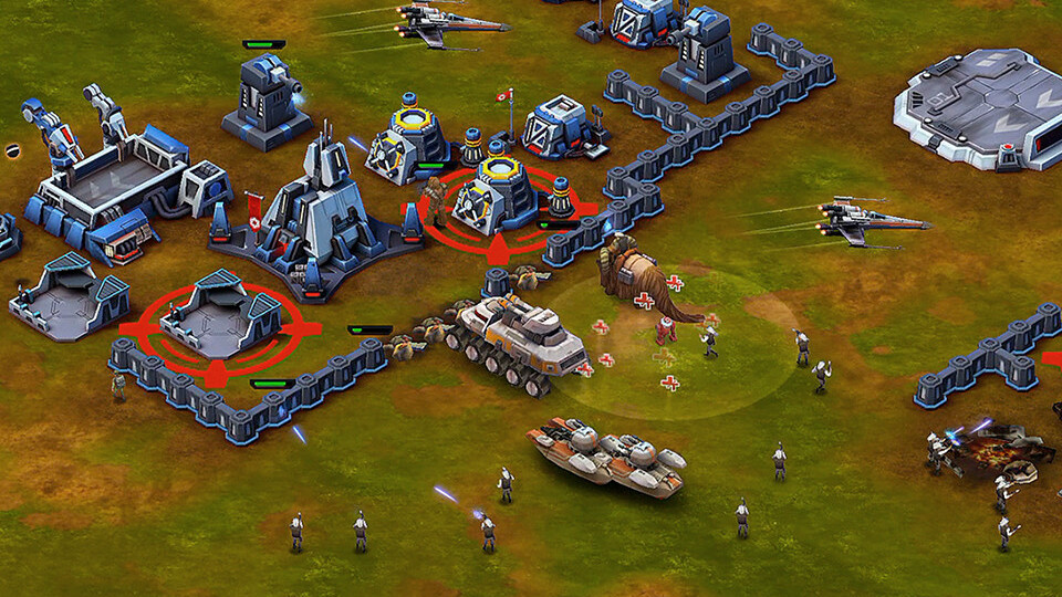 Star Wars: Commander for iOS lets you build a base and fight for the Empire or Rebel Alliance