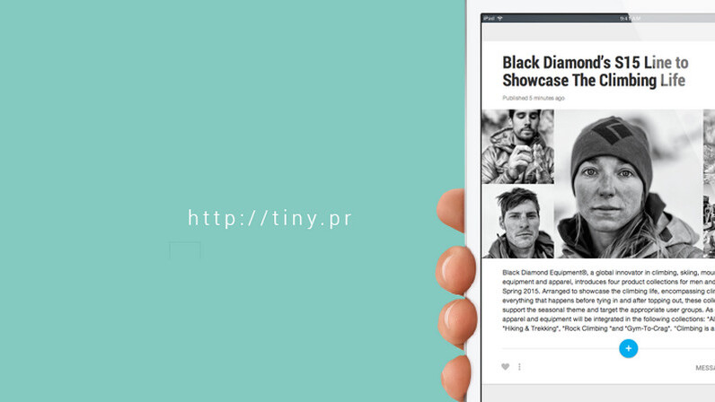 Tiny Pitch: An easy way to send simple, good-looking press releases to journalists