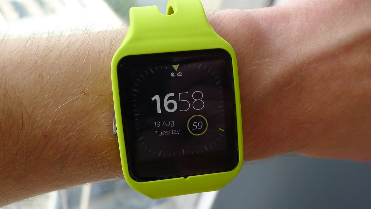 Sony's SmartWatch 3 runs Android Wear and tracks your jogging routes without a smartphone