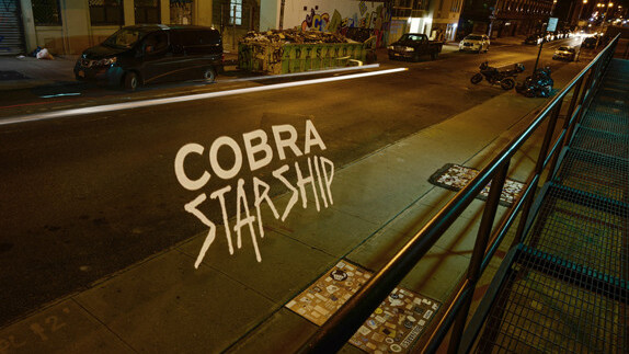 How to make a lyric video: The creation of Cobra Starship's newest clip