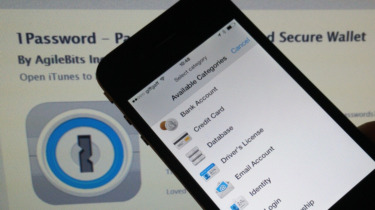 1Password 5 for OS X is now available with full Yosemite support