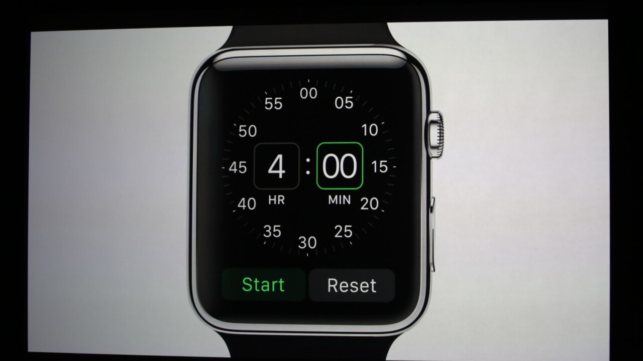 The Apple Watch will be available in 'early 2015' for $349
